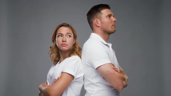 Thumbnail for Unhappy Couple Having Argument
