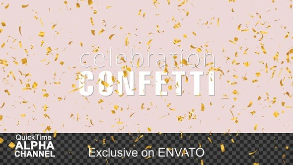 Explosion Gold Confetti Pack