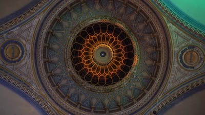 Mandala in the Synagogue