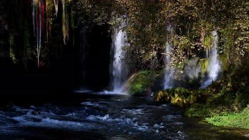 Waterfall In Wild Nature 78