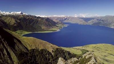 Lake Hawea scenery
