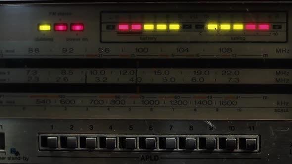 Thumbnail for Old Radio Tuner Lights.