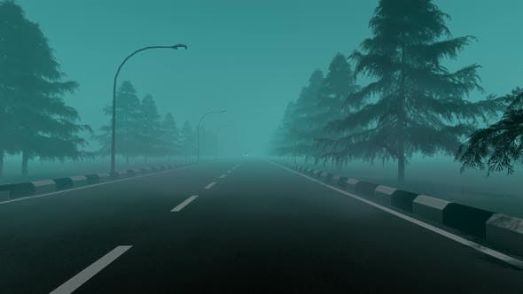 Thumbnail for Incorrect Vehicle Overtaking at Foggy Road
