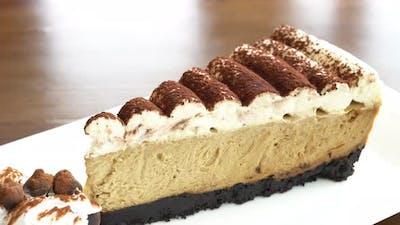 Sweet dessert chocolate cake
