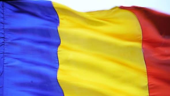 Rumänische Flagge