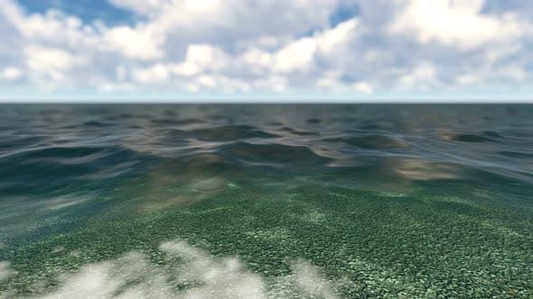 Pebbles On Lake
