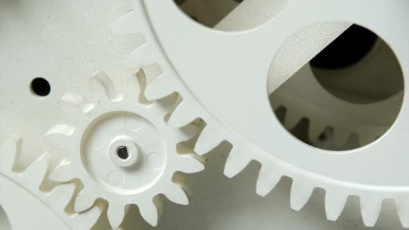 Abstrat Industrial Clock Gears 18