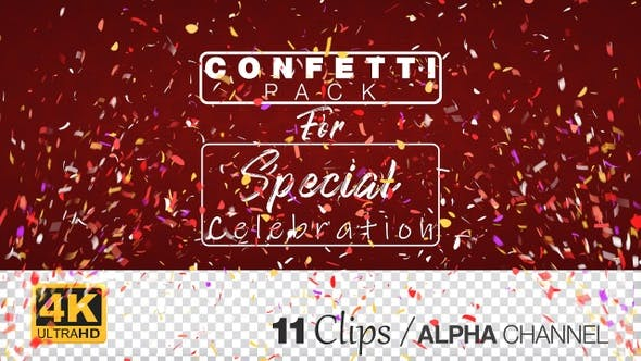 Thumbnail for YouTube Subscriber Celebration Confetti Pack