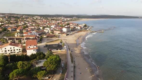 Seaside Summer Town