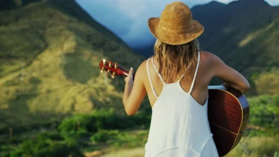 Thumbnail for Young Woman Playing Guitar