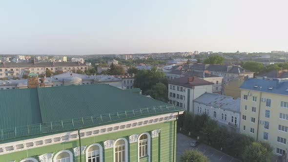 Thumbnail for Aerial view in the city of Ternopil