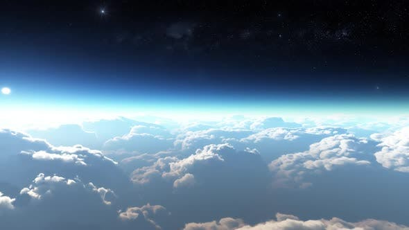 Earth View Above The Cloud 09 HD