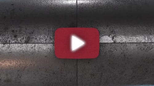 3D Transition To Youtube Iron Roll