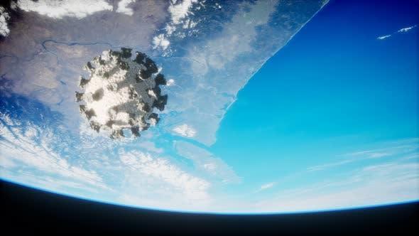Thumbnail for Coronavirus COVID-19 on the Earth Orbit