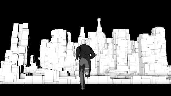 Thumbnail for Running To City VJ Loop