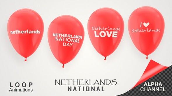 Thumbnail for Netherlands National Day Celebration Balloons