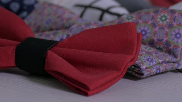 Thumbnail for Close up of bow ties