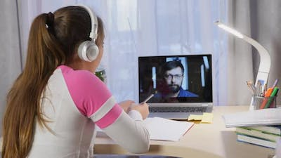 Distance Learning at Home During Quarantine
