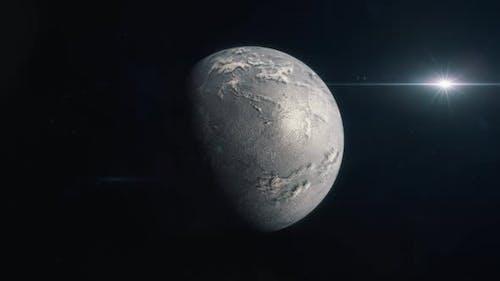 Habitable Exoplanet - Ice World