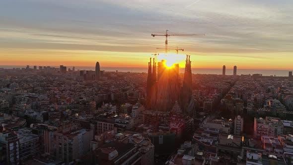 Thumbnail for Flying Over Barcelona