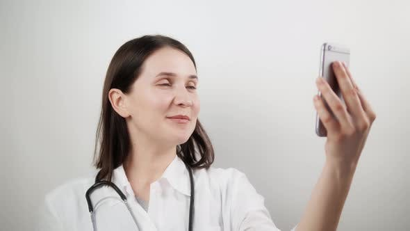 Doctor Video Chat Consultation