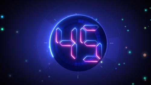 Last Minute New Year Countdown Celebration