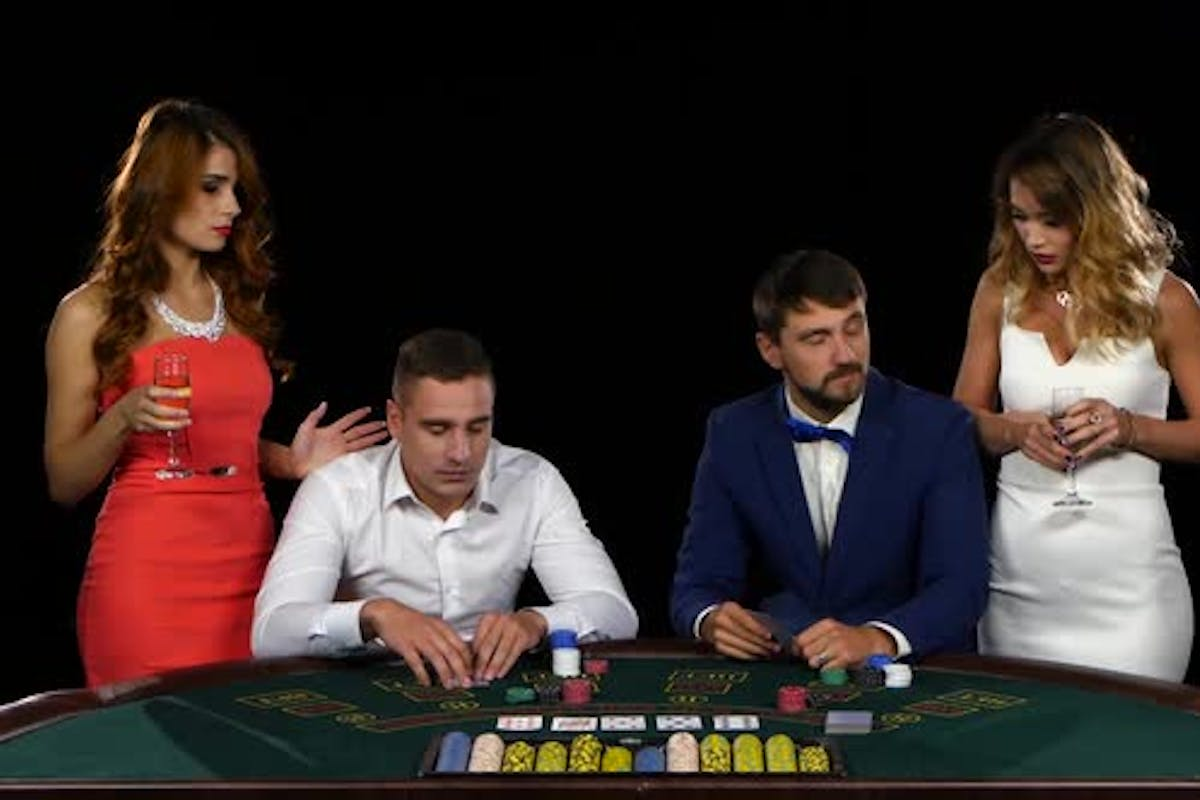 Never Listen To Advice Women Playing Poker by KinoMaster on Envato Elements