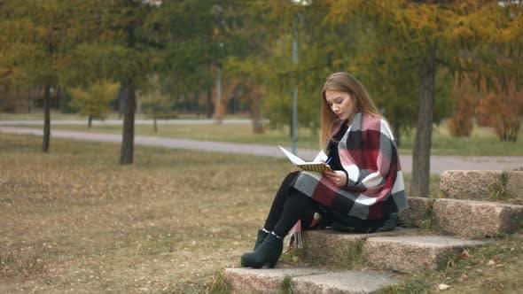 Thumbnail for Girl in Autumn Park
