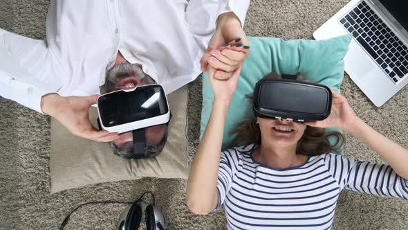 Thumbnail for Couple Experiencing Virtual Reality