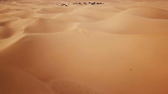 Thumbnail for Camping Site in Sahara Desert, Africa