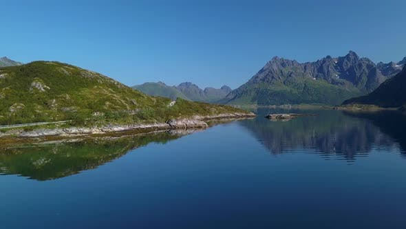 Thumbnail for Flight Over the Fjord