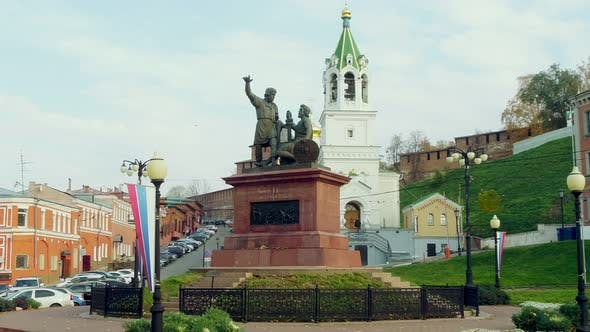 Thumbnail for A Monument in a Touristic Russian Town