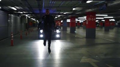 Terrorist Running From Police
