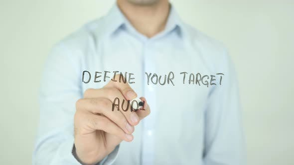 Thumbnail for Define Your Target Audience, Writing On Screen