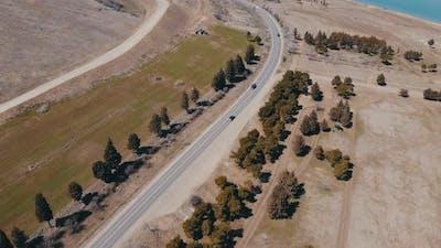 Car Road Aerial