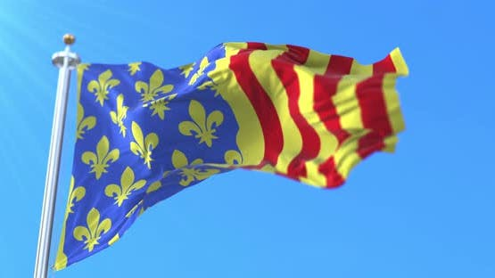 Flag of Lozere in France