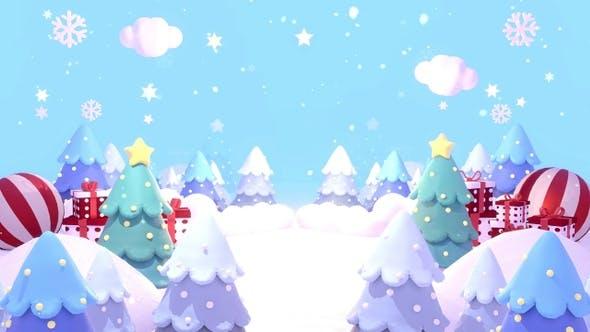Weihnachts-Land