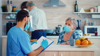 Discussing About Coronavirus Pandemic