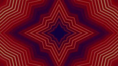 Pulsing Red Star