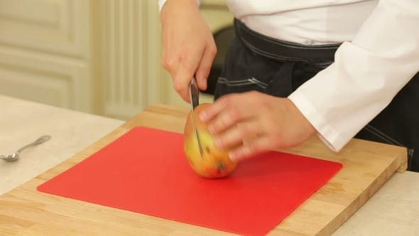 Thumbnail for Peeling And Cutting Mango