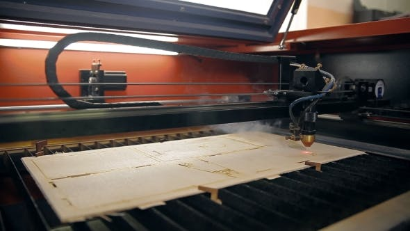 Thumbnail for A Machine For Cutting Plywood With a Laser