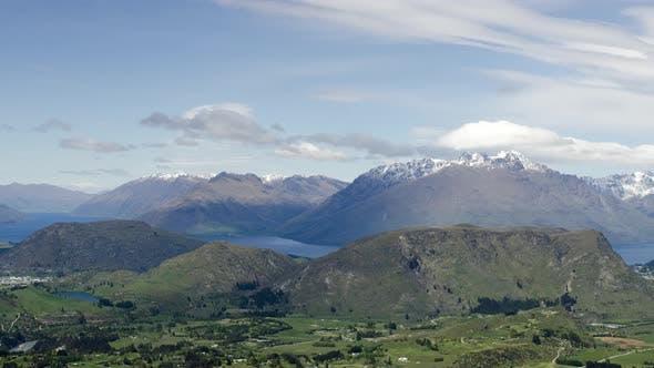 Timelapse cloudscape at Mount Remarkable