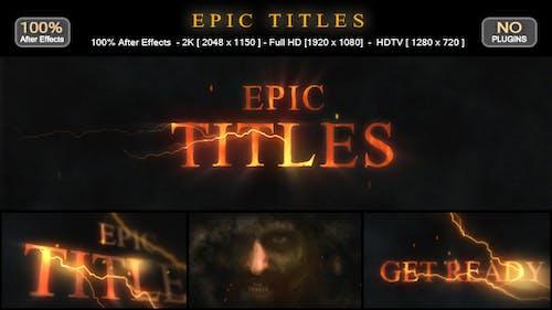 Epic Titles
