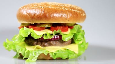 Beef Burger Meal
