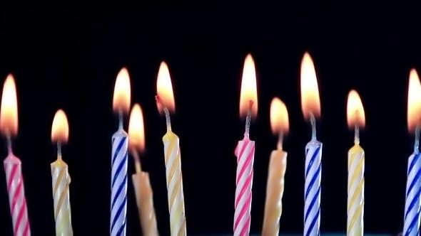 Thumbnail for Birthday Candles Burning