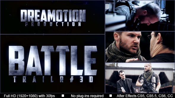 Thumbnail for Tráiler Acción (BATTLE)