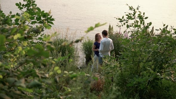 Thumbnail for Couple In Love By The River