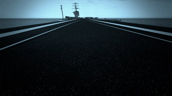Thumbnail for Landing on an Aircraft Carrier - Plane View