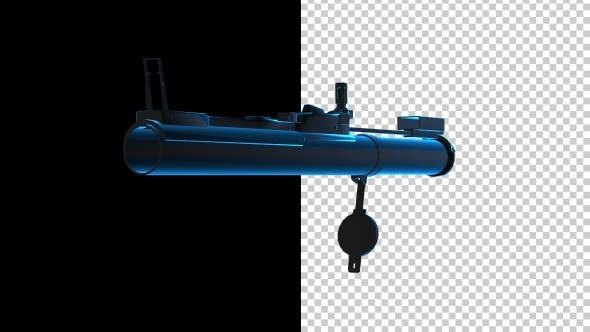 Thumbnail for 3D Rocket Launcher Outline