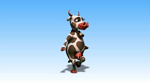 Thumbnail for Happy Cow - Cartoon Walk